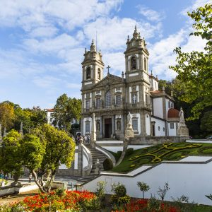 Sanctuary of Bom Jesus Do Monte in Tenoes
